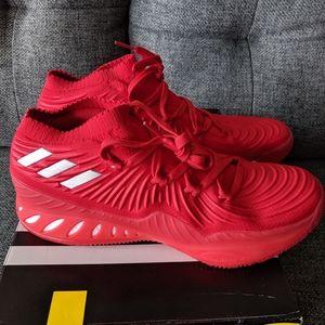 Adidas SM crazy explosive low NBA NCAA red october
